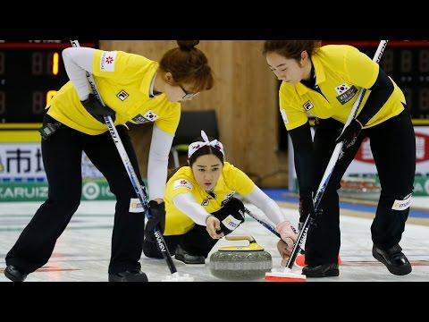 CURLING: CHN-KOR Pacific-Asia Curling Chps 2014 - Women Gold