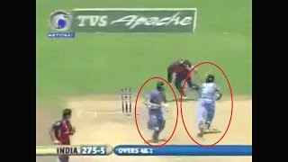 Dhoni running faster than Bolt WTF 20m in 27 seconds Unbelievable