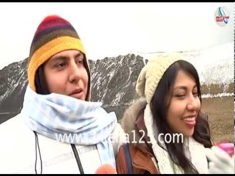 Se pinta de blanco el Nevado de Toluca