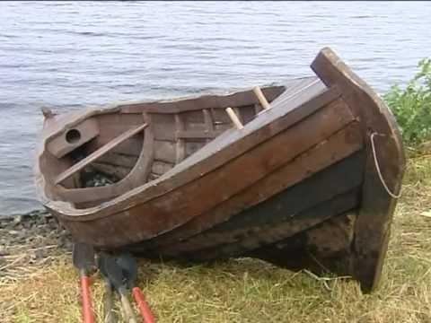рыбацкая лодка долбленка