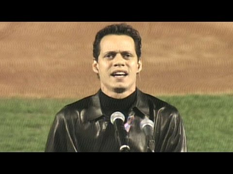 Marc Anthony Sings The Star-spangled Banner video