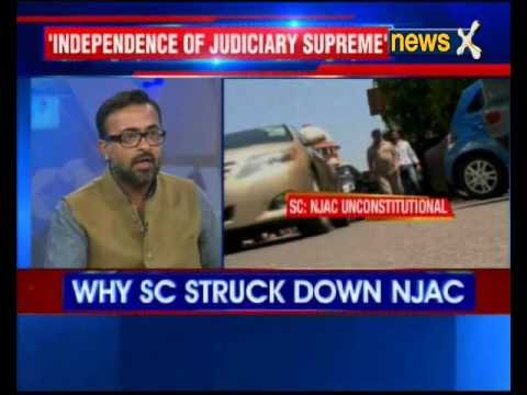 NJAC represented people's will, says law minister D.V. Sadananda Gowda