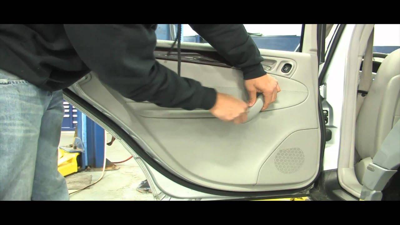 Benzwerks C Class Rear Door Panel Removal Youtube