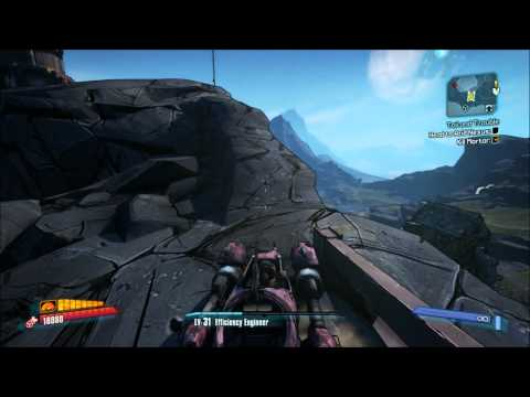 Borderlands 2 - The Highlands - Windsocks and Comms Towers