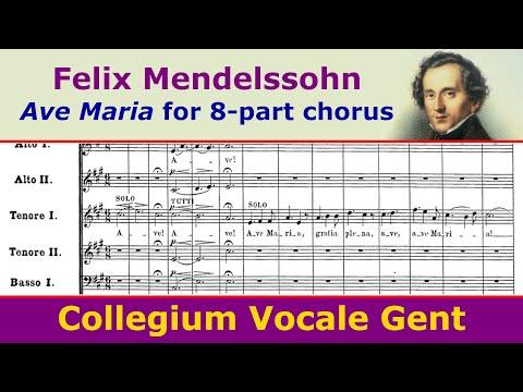 Феликс Мендельсон - Ave Maria, Op. 23, No. 2