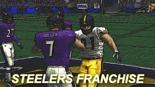 ESPN NFL 2K5 STEELERS FRANCHISE MODE - WEEK 2 VS RAVENS
