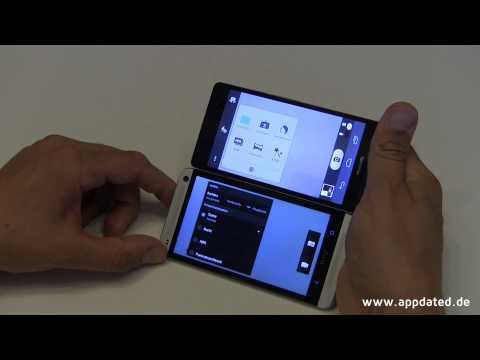 HTC One vs. Huawei Ascend P6 Vergleich (Deutsch. 1080p)