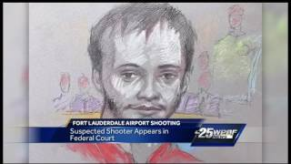 Alleged airport shooter appears in court