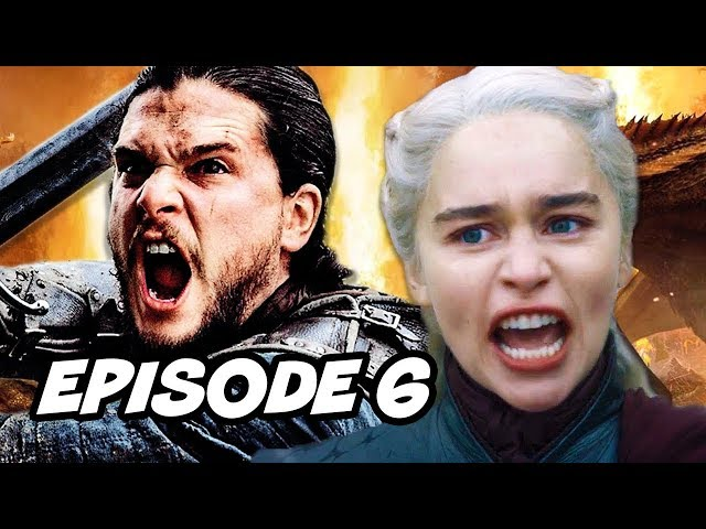 Game Of Thrones Season 8 Episode 6 Finale TOP 20 WTF and Easter Eggs thumbnail