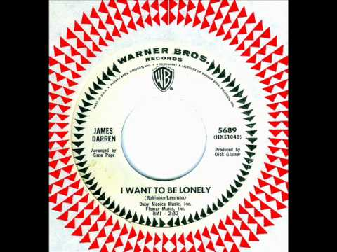 James Darren - I WANT TO BE LONELY  (1965)