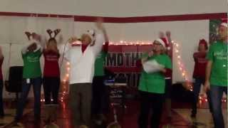 Timothy Christian Christmas Vacation Teacher Flash Mob