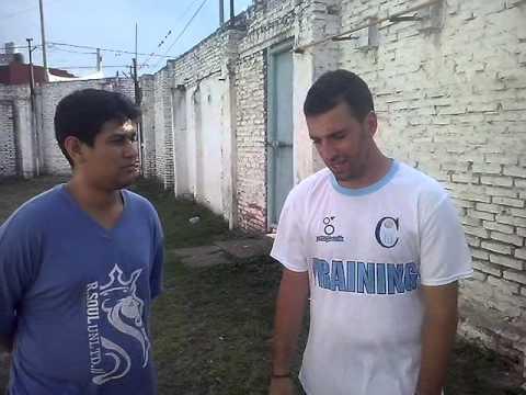 Entrevista al DT Atlético Concepción.