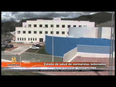 Estado de salud de normalistas lesionados en percance en Chilpancingo