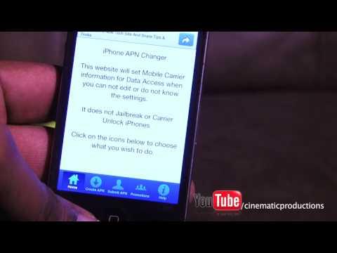Quick! Straight Talk Wireless UNL $45/month APN Changer DATA FIX: iPhone