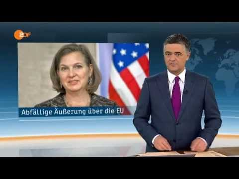 Fuck the EU   Victoria Nuland   ZDF heute 07 02 2014