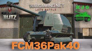 World of Tanks BLITZ - FCM36Pak40 - Tier III Premium French Tank Destroyer