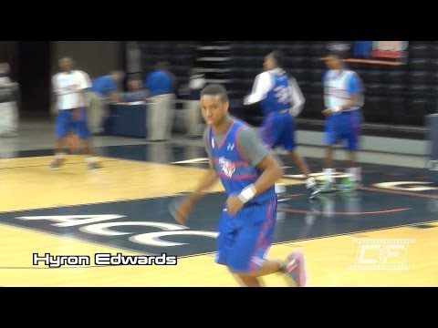 Hyron Edwards Mixtape @ NBA Top 100 Camp