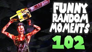 Dead by Daylight funny random moments montage 102