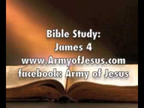 "Bible Study : James 4  ""Get the anointing oil Yourself."" Tithes for wealth well being"