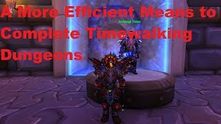 Optimize Your Gear for Timewalking Dungeons