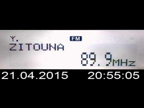 DX FM Sporadic-E Radio Zitouna Tunisia in Craiova Romania