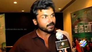 Alex Pandian - Exclusive Karthi talks about Alex Pandian