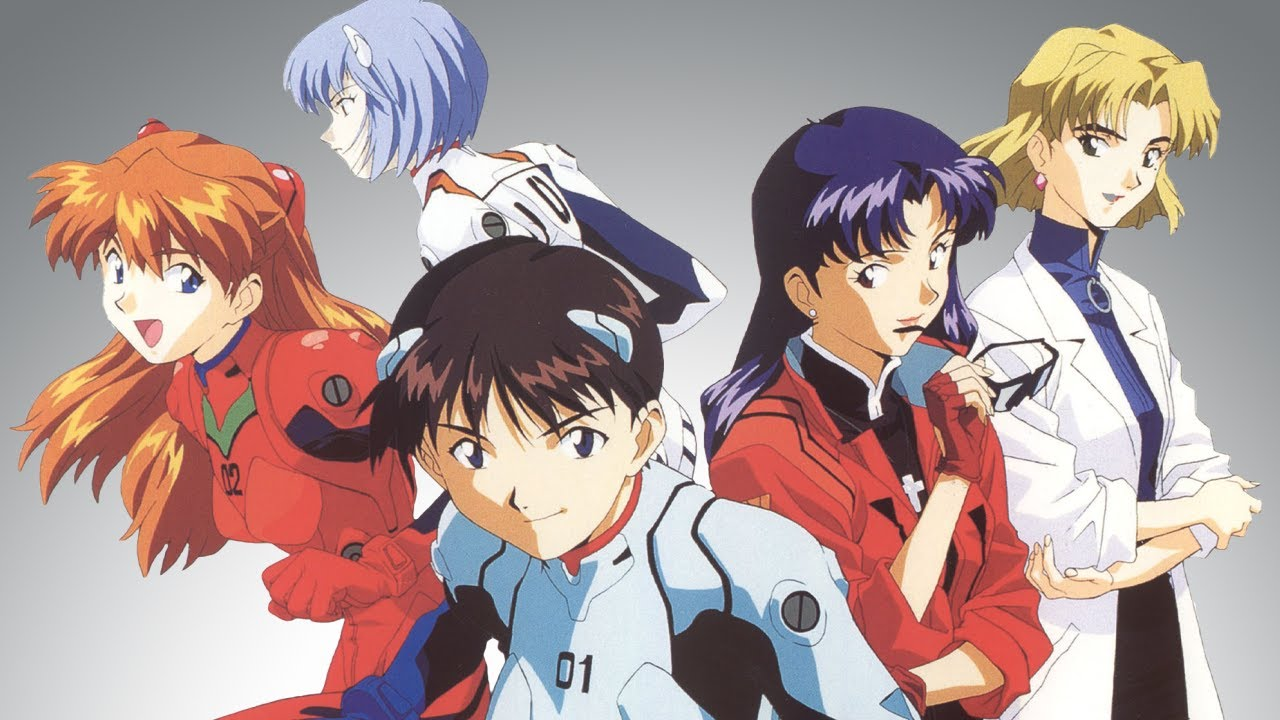 Gr Anime Review Neon Genesis Evangelion Youtube