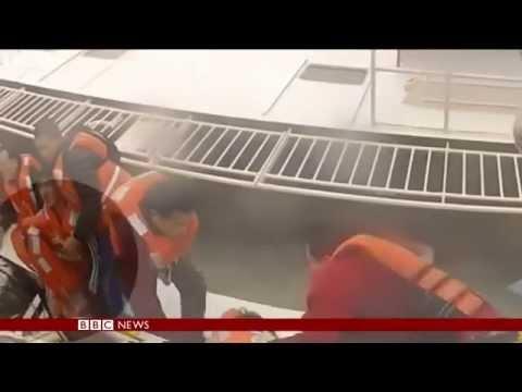 S Korea ferry: Weather hampers rescue effort