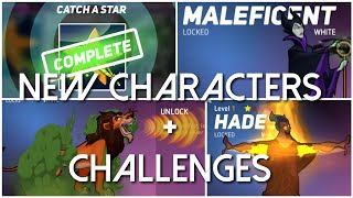"""Disney Heroes Battle Mode UPDATE NEW """"HEROES"""" + CHALLENGES Gameplay - iOS/Android"""