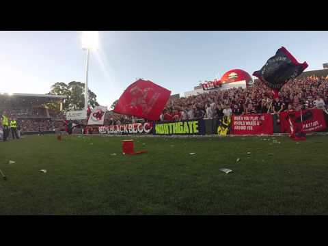 Western Sydney Wanderers 1 v 1 Melbourne Heart Parramatta Stadium - December 7th 2013.