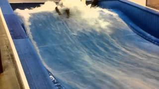 Surfing The Flowrider
