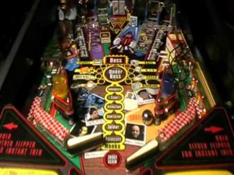 The Sopranos Pinball Machine Video