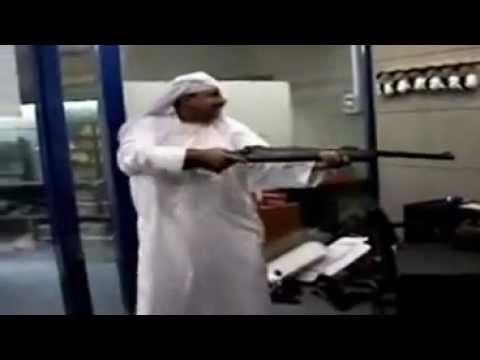 Funny Arab Shooting in Dubai