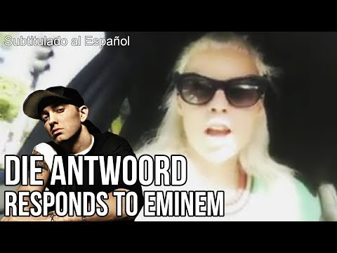 DIE ANTWOORD RESPONDS TO EMINEM - Subtitulado