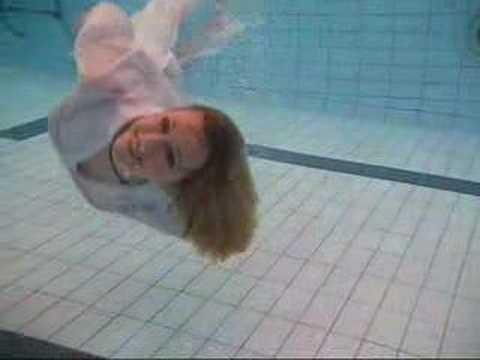 Wetlook - Wetmar underwater in the pool party in white