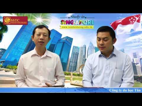 Trao đổi thông tin cùng đại diện trường SSTC Singapore