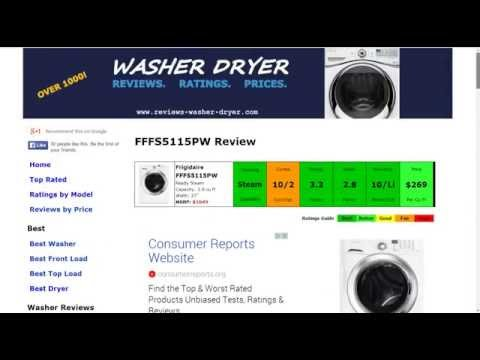 Frigidaire FFFS5115PW Washer Review