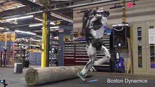 Boston Dynamics + The Office Parkour