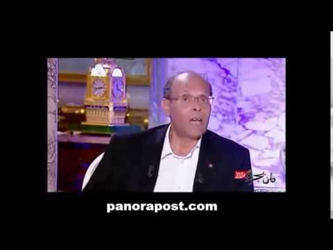 Le président tunisien Moncef Marzouki explique certains détails de la visite du roi Mohammed VI