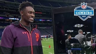 "D.K. Metcalf Talks About His Ridiculous Combine Workout, ""I wanted to do better"" 