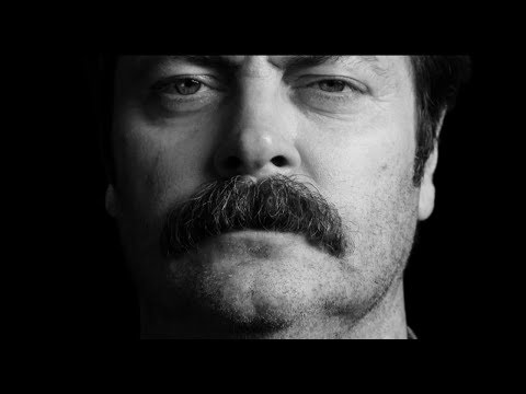 Nick Offerman s Great Moments in Moustache History - Movember