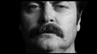 Nick Offerman's Great Moments in Moustache History - Movember