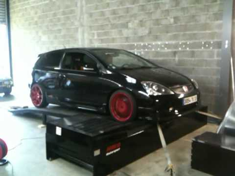 Mesure finale Honda Civic Type R aprs rglage by HRED Motorsport