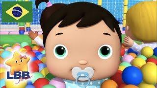 Desenho para Bebe | Dez Bebezinhos Com Mia e Jacus | Canções para Crianças | Little Baby Bum Júnior