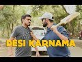 Desi Karnama   Part 1 Ft. Be YouNick And Amit Bhadana