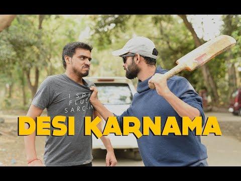 Desi Karnama - Part 1 Ft. Be YouNick And Amit Bhadana thumbnail