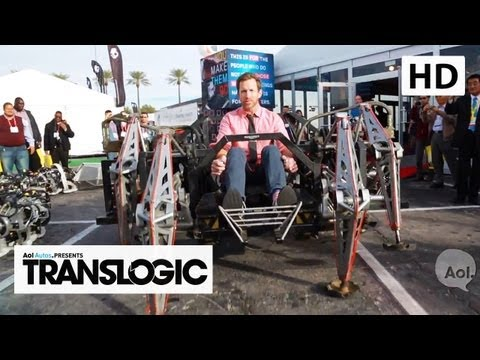 Autonomous Cars, CES 2013  | AOL Autos TRANSLOGIC 121