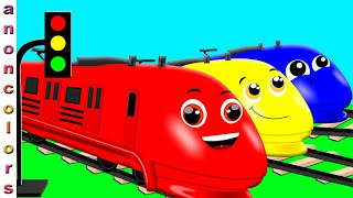 Educational Video for Learning Colors For Children |Colorful Trains For Kids | Learn Colors For Kids