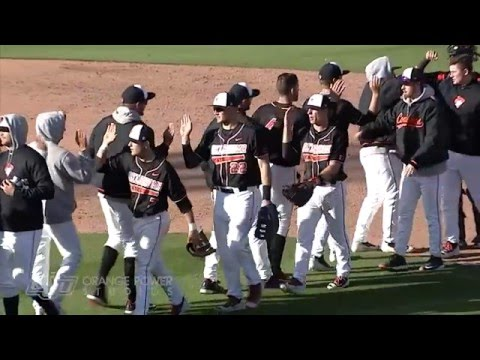 Cowboy Baseball vs Michigan Web Highlights (03.19.16)