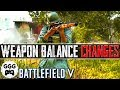 Lagu Assault NERFED, AP Mines FIXED, FG-42 BUFFED & MORE (BF5 Weapon Changes) - Battlefield 5